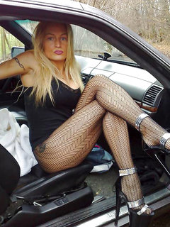 Mature blonde bbw in stockings squirts on bbc