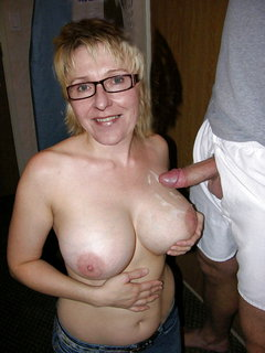 Mature wife gets shared with hubby and buddy