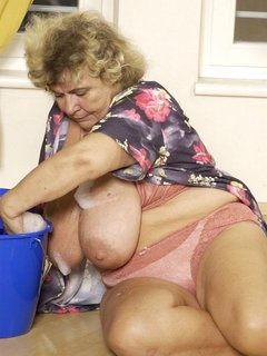 Hot mature blonde is hungry for cock