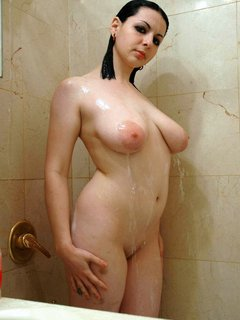 Mature women with great tits dildos her pussy