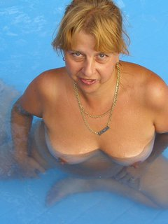 A real spy cam:mature wife with small empty saggy breasts 4