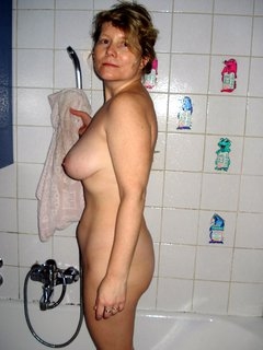 Watching a mature lady on cam
