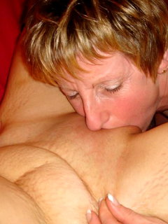 Mature women are blowing off steam