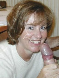 Still working the big mature cock