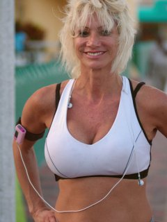 Sherry is a skinny mature babe who loves sticky facials