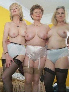 Mature nipple pleasures with handjob