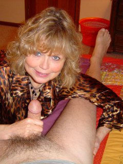 Sexy mature hairdresser again.