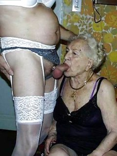 Blonde mature mother