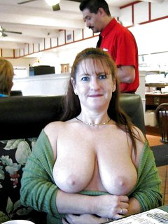 Mature fucks and gets big tanned tits splattered with cum