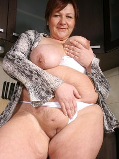 Hairy mature wife gets fucked by black dude