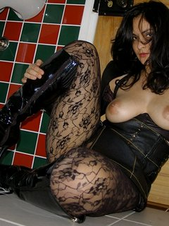 Busty brunette german mature fucked by plumber