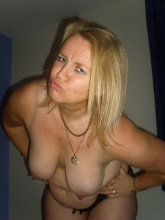 Busty hairy mature in fishnets fucks