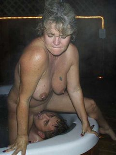 Sexy mature milf shows and fucks