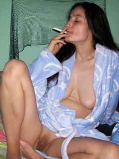 Chic beauty mature russian mom and a young guy.