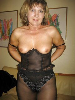 Hot mature solo action 1