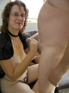 Mature enjoying