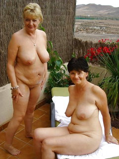 Mature and younger girls lesbian orgy i