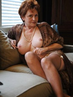 Redhead hairy mature fucked on the hay