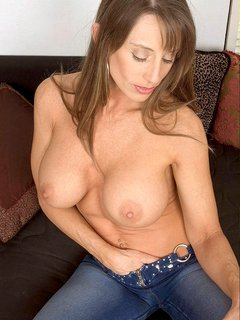 Busty amateur mature mother
