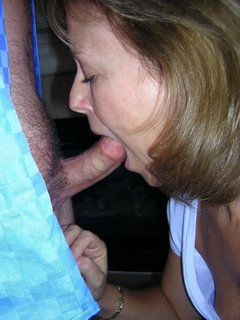 Voyeured mature wife
