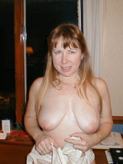 Big breasted mature mother with hungry pussy