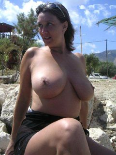 Chubby mature toying