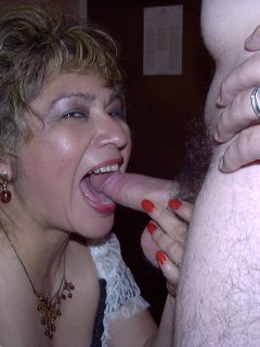 Cock hungry mature latin milf