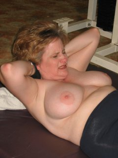 Mature likes a big cock