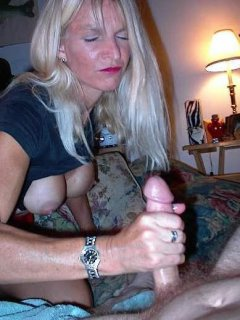 Mature submissive self spanking pussy with hair brush.