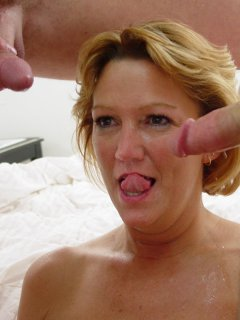 Gorgeous mature babe is nailed by hung stud