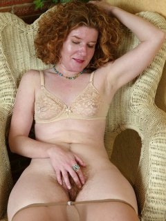 Fabulous plump mature blonde