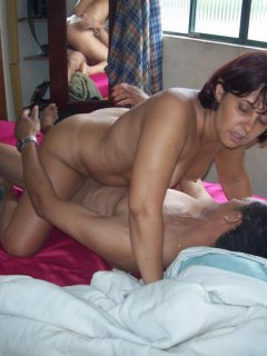 First time fucked on video for this french mature