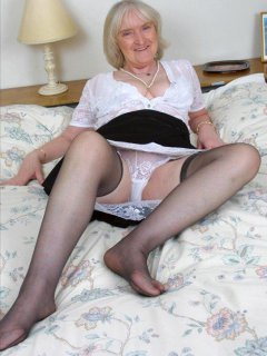 Awesome mature mother in black stockings 124. Smyt